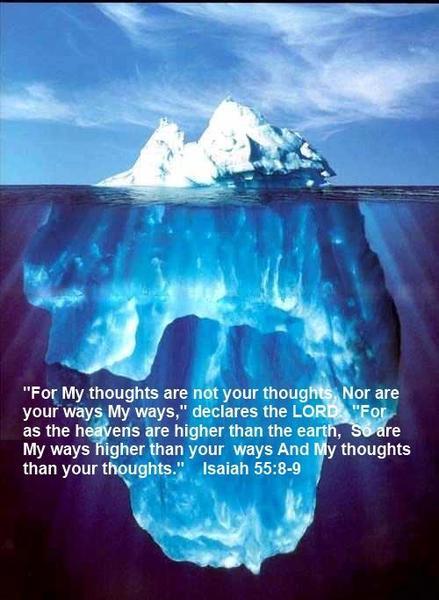 Isaiah 55_8-9 - Iceberg