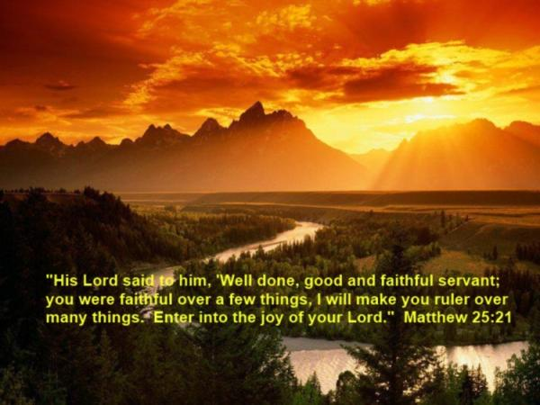 A Blessed Sunday: Faithful Christian Service