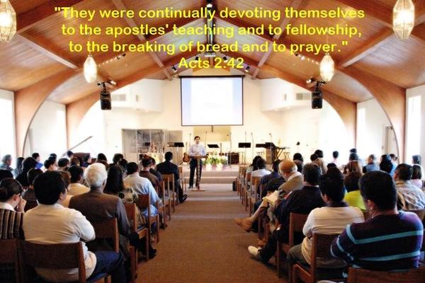 Acts 2-42 - CICF Church