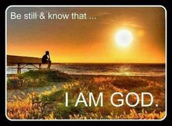 Be Still - Know I Am God - 1