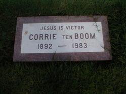 Corrie ten Boom Grave Stone