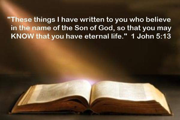 1 John 5-13 - Bible Inspired By God