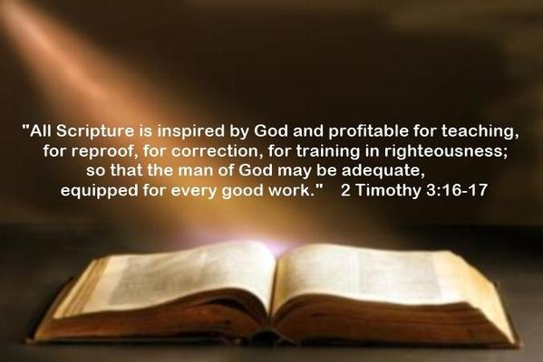 2 Timothy 3_16-17 - Bible Inspired By God
