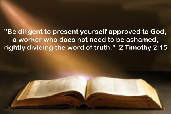 2 Timothy 2-15 - Bible Inspired By God