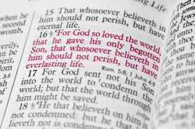 John 3-16 - Bible