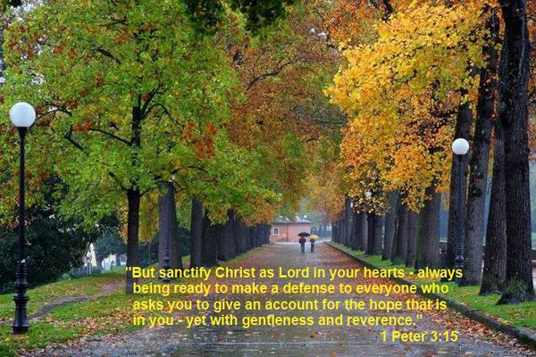 1 Peter 3-15 - Walk In The Park-1