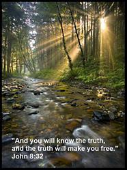 John 8-32 - Light Shines Through