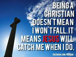 He Will Catch Me When I Fall