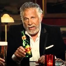 Image result for Dos Equis man with Bill Clinton face