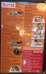 Fajitas and Burritos