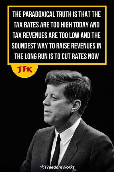 jfk tax cut