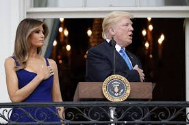 Image result for melania on the 4th