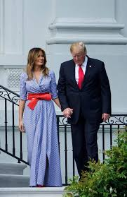 Image result for Don and melania on the 4th