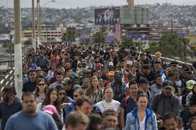 Image result for crowds of illegals