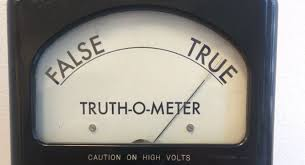 Image result for True on truth meter