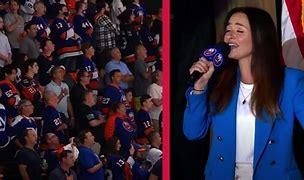 Image result for Long Island NHL fans TAKE OVER national anthem